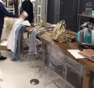 Décoration intérieure - Magasin prêt-à-porter Avanti Mode