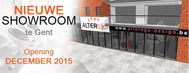 Een nieuwe Alterego-showroom te Gent!