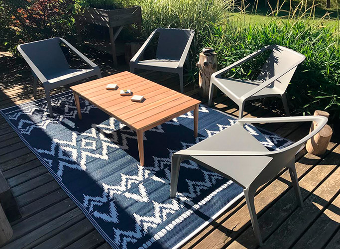 Inrichting van een patio - Foto 1 - Alterego Design