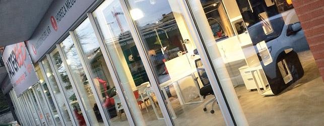 Een Alterego Design winkel te Lochristi (Gent)