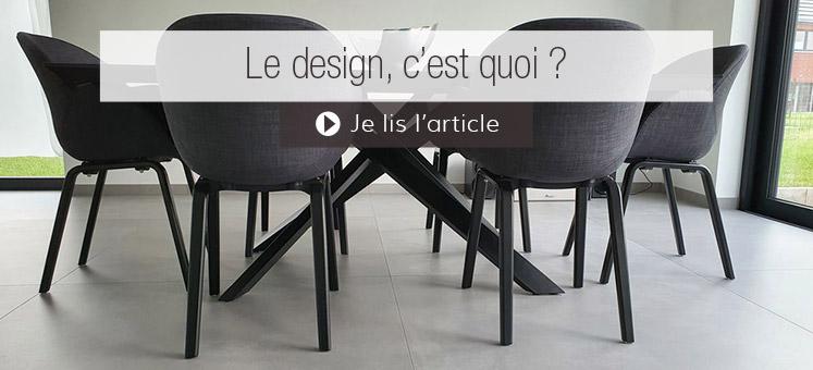 Le design, c'est quoi ?