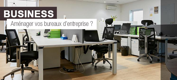 Question business - Comment aménager les bureaux d'entreprise ?