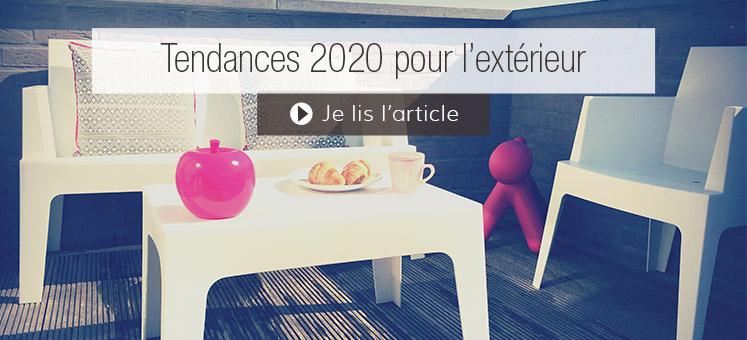 Tendances 2020 pour l'extérieur