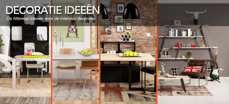 De Alterego ideeen voor de interieur decoratie