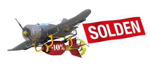 SOLDEN - De koopjesoorlog is begonnen!