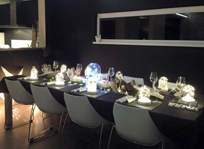 Een design tafel voor feestdagen - Alterego Design