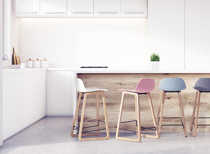 Quelle tendance pour les tabourets de bar de cuisine ? - Alterego Design