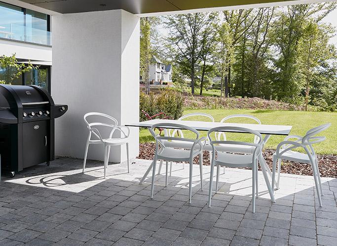 Inrichting van een groot terras - Foto 1 - Alterego Design