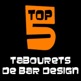 TOP 5 - Les tabourets de bar design