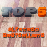 TOP 5 - De Alterego bestsellers