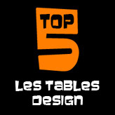TOP 5 - Les tables design
