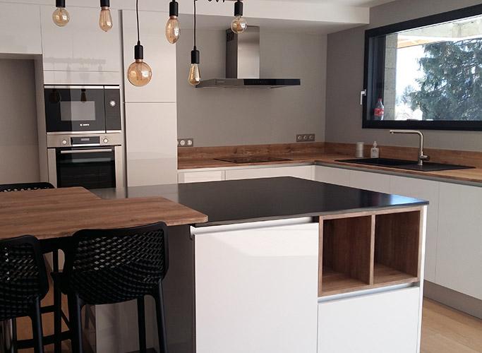 Pensez grand pour le plan de travail de votre cuisine