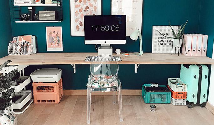 Aménagement des bureaux d'entreprise - Votre bureau à la maison 01