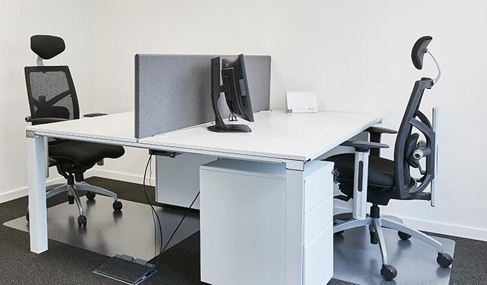 Aménagement des bureaux d'entreprise - écran de séparation 02