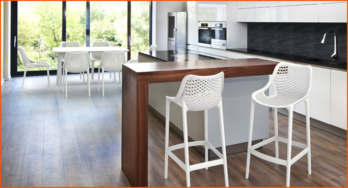 Chaises et tabourets pour interieur - Alterego