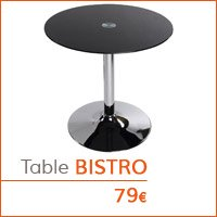 Coin déco - Table d'appoint BISTRO