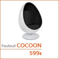 Coin déco - Fauteuil oeuf COCOON
