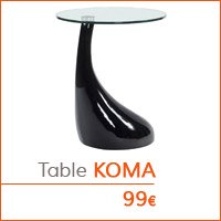 Coin déco - Table d'appoint KOMA
