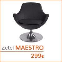 Decoratiehoek meubilair - Draaibare zetel MAESTRO
