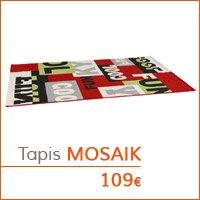 Mon premier appartement - Tapis MOSAIK