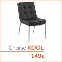 Mobilier de salle à manger - Chaise KOOL