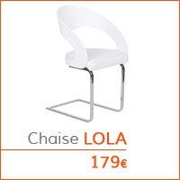 Mobilier de salle à manger - Chaise LOLA