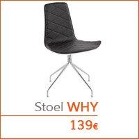 Eetkamer meubelen - Stoel WHY