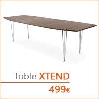 Mobilier de salle à manger - Table XTEND