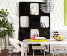 Décoration interieure salle à manger - les meubles de rangement