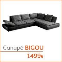 Mobilier de salon - Canapé BIGOU