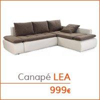 Mobilier de salon - Canapé LEA
