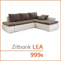 De woonkamer - Hoekbank LEA