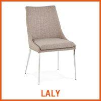 LALY grijze stoel - Alterego nieuwigheden