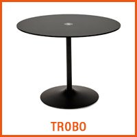 TROBO zwarte tafel - Alterego nieuwigheden