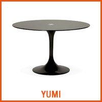 Table YUMI noire - Nouveaute Alterego