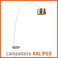 Lampadaire KALIPSO couleur cuivre - Nouveaute Alterego