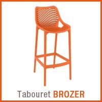 Meuble de jardin Alterego - Tabouret BROZER