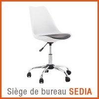 Fauteuil de bureau Alterego - Fauteuil SEDIA