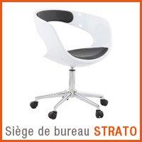 Fauteuil de bureau Alterego - Fauteuil STRATO