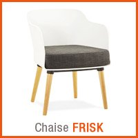 Meubles scandinaves Alterego - Chaise FRISK