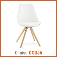 Meubles scandinaves Alterego - Chaise GOUJA