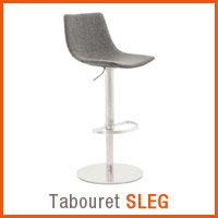 Meubles scandinaves Alterego - Tabouret SLEG