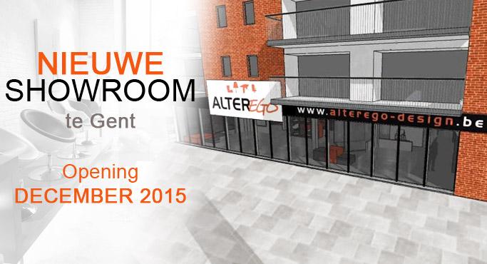 Een nieuwe meubelwinkel te Gent - Alterego Design