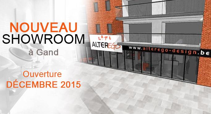 Nouveau magasin de meubles à Gand - Alterego Design