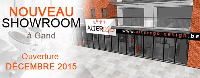 Un nouveau showroom Alterego à Gand !