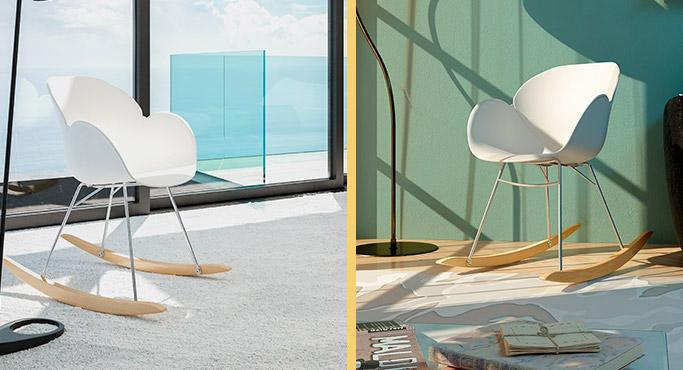 chaise et fauteuil alterego