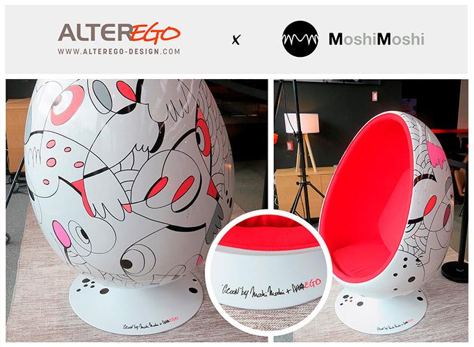Retour sur un fauteuil design unique by MoshiMoshi + Alterego ! - Alterego Design
