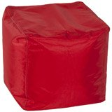 Pouf d'appoint EASY rouge - Alterego Design