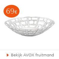 Valentijn - AVOX fruitmand