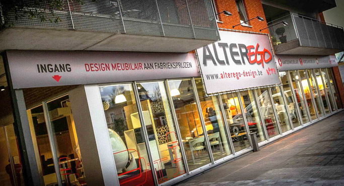 Alterego Design a Gand - Nouveau magasin Alterego Design